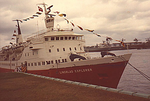 An early Lindblad exploration ship