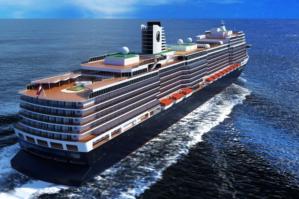 MS Koningsdam will sail from April 2016