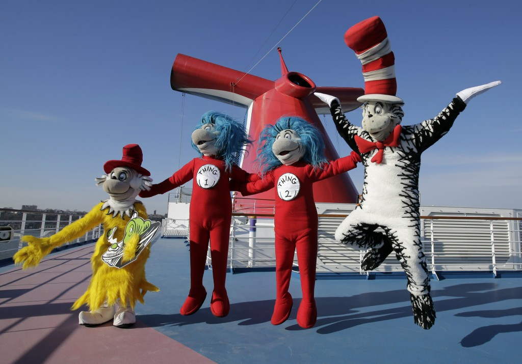 Dr Seuss' loveable characters want to have some fun
