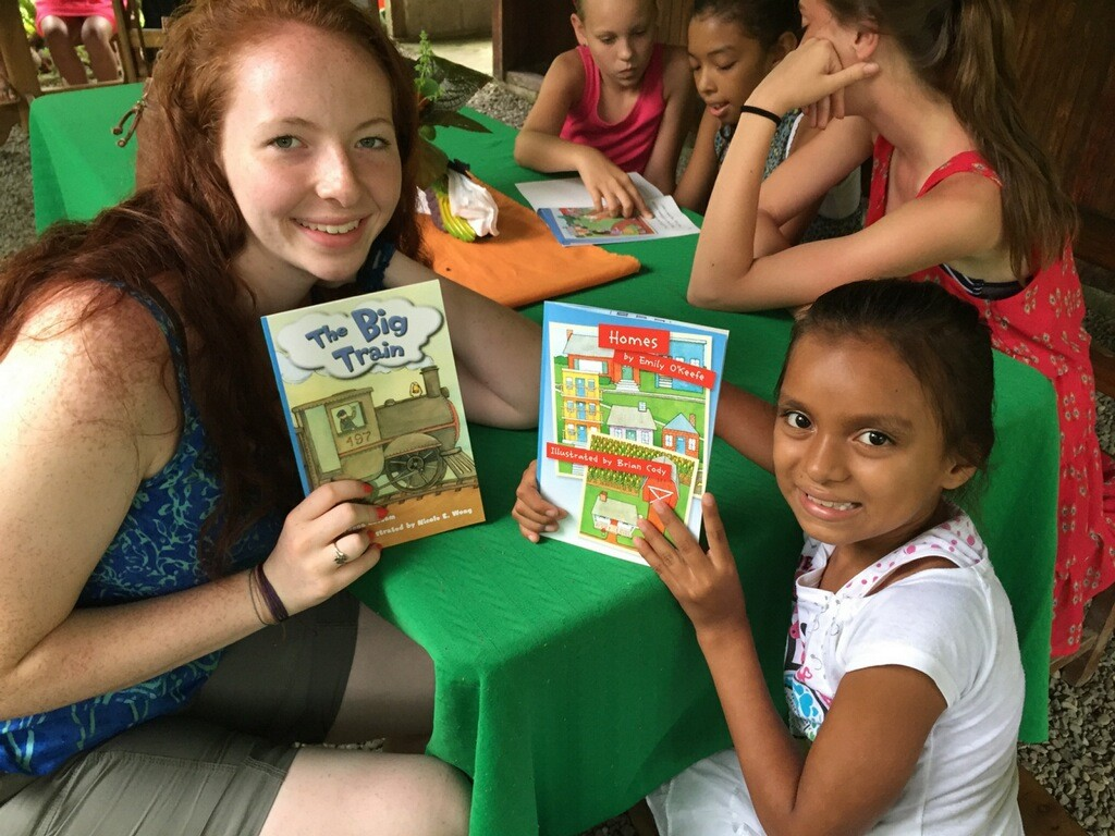 Read to kids as a shore excursion