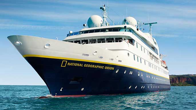 Lindblad's expedition ship National Geographic Orion