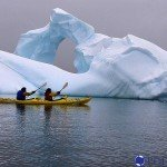 Kayaking on a Seabourn Quest cruise
