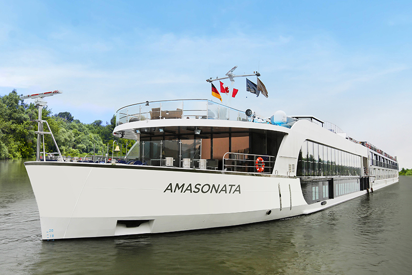 APT ship AmaSonata is one of a number of river cruise ships which from time to time offers special single deals.