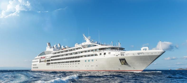French cruise line Ponant's newest vessel Le Lyrial