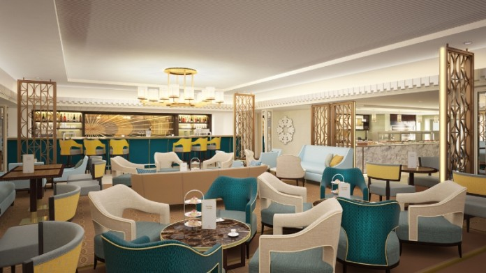Carinthia Lounge will pay homage to the golden age of Cunard