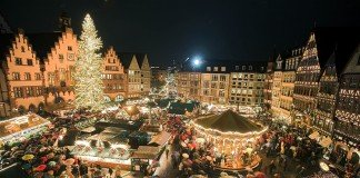 Wander among brightly lit Christmas Markets in Europe