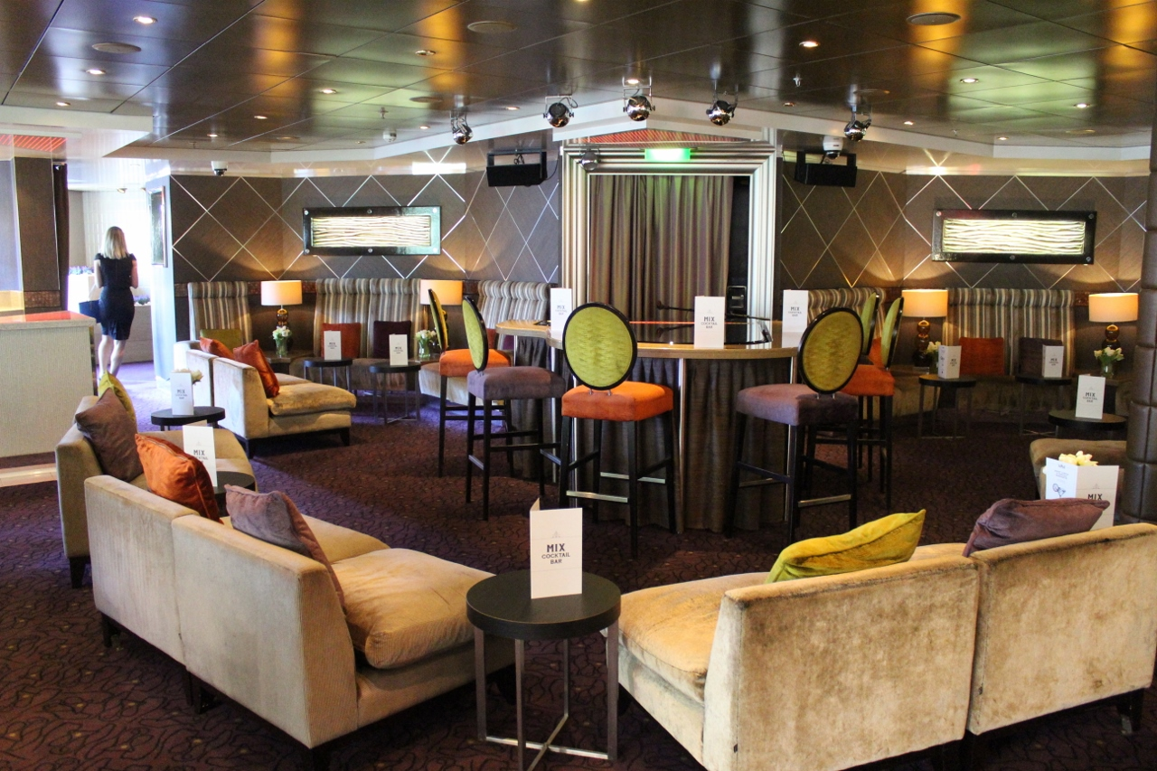 P&O Pacific Explorer will offer more small lounges.