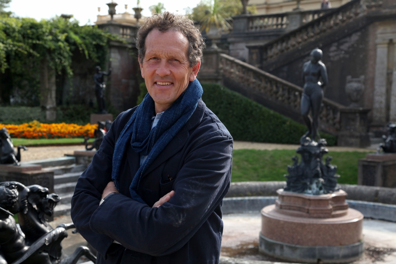 Monty Don will meet guests onboard Botanica