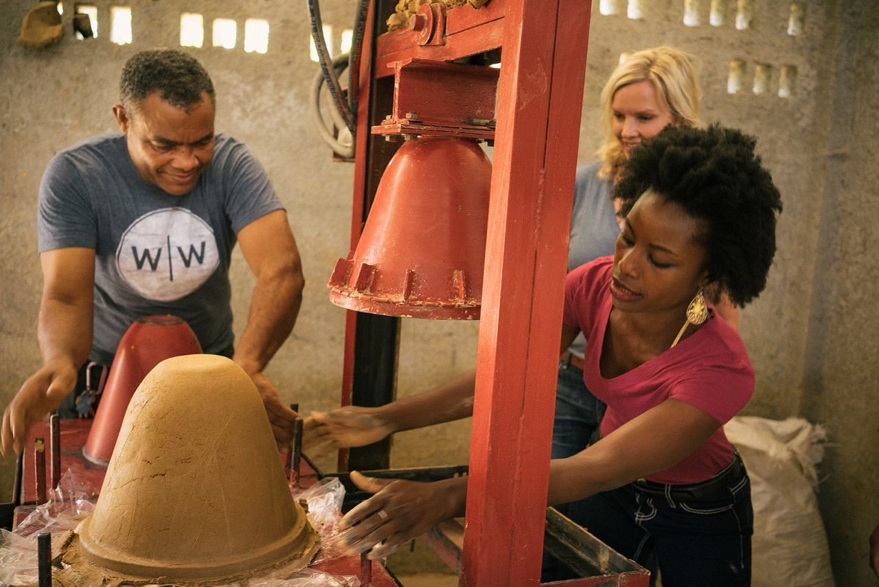 Pottery classes for Fathom guests