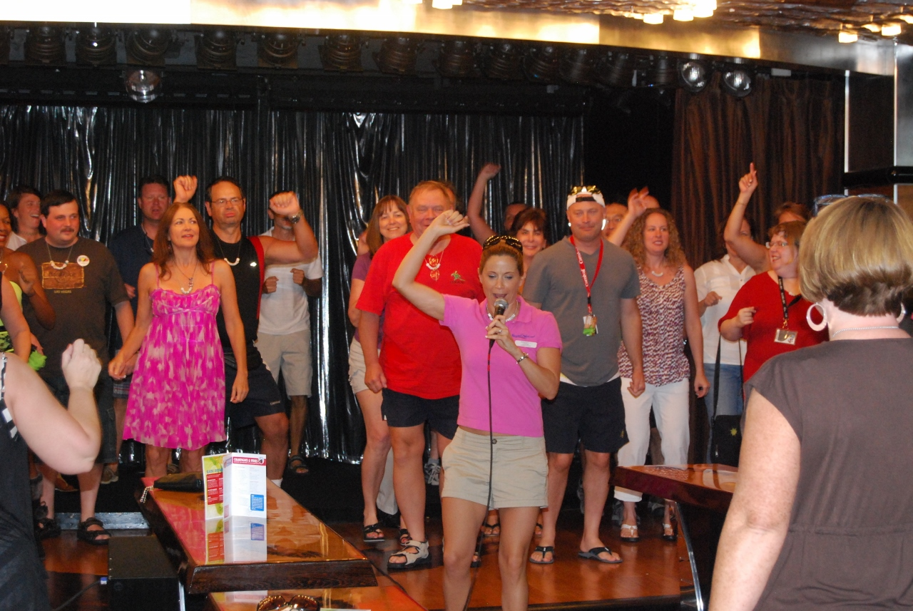 Singles can learn to dance on Carnival Cruise Line