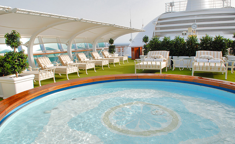 Adults Only Sanctuary Pool zone