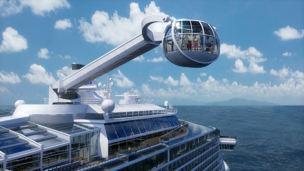 North Star Observation Platform on Ovation of the Seas