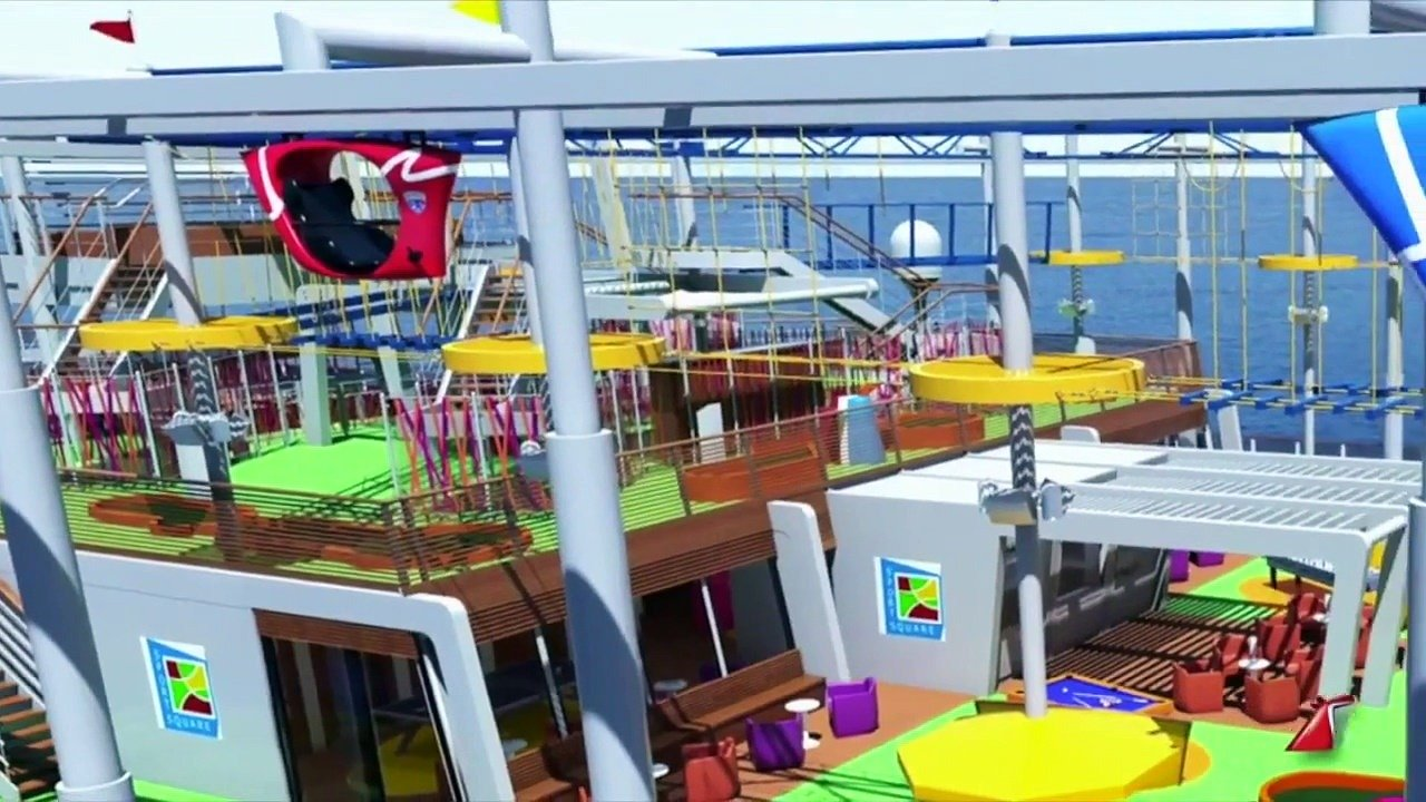 SkyRide on Carnival Vista will debut