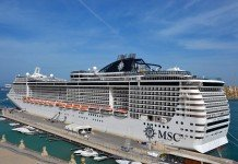 MSC Preziosa has already been fitted with a Jean Louis David hair salon.