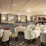 Verandah Restaurant Rendering on Cunard Queen Mary 2