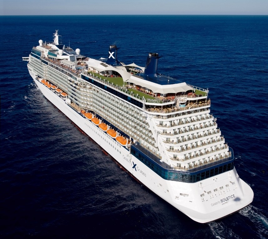New ships coming to Celebrity Cruises will be slightly smaller than Solstice.