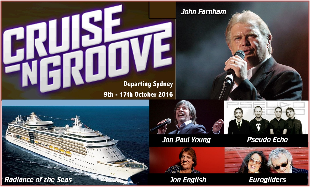 Aussie musical acts performing at Cruise & Groove 2016