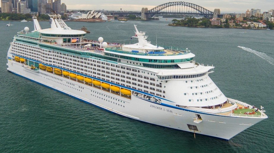 Royal Caribbean's Explorer of the Seas in Sydney Harbour