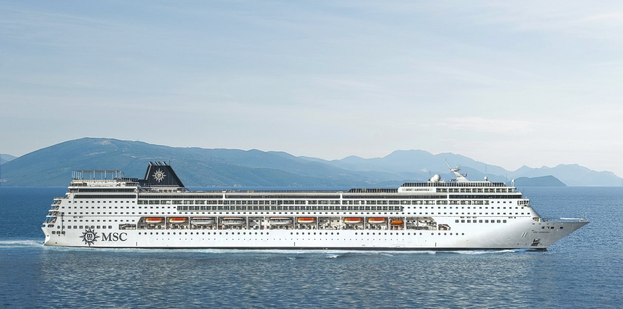 MSC Armonia, one of the line's smaller vessels has now set up shop in Cuba alongside her sister MSC Opera.