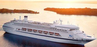 Pacific Dawn for P&O Cruises State of Origin cruise