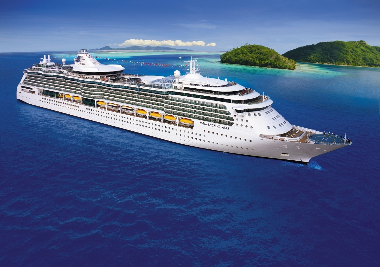Royal Caribbean's Radiance of the Seas loves the Pacific Ocean.
