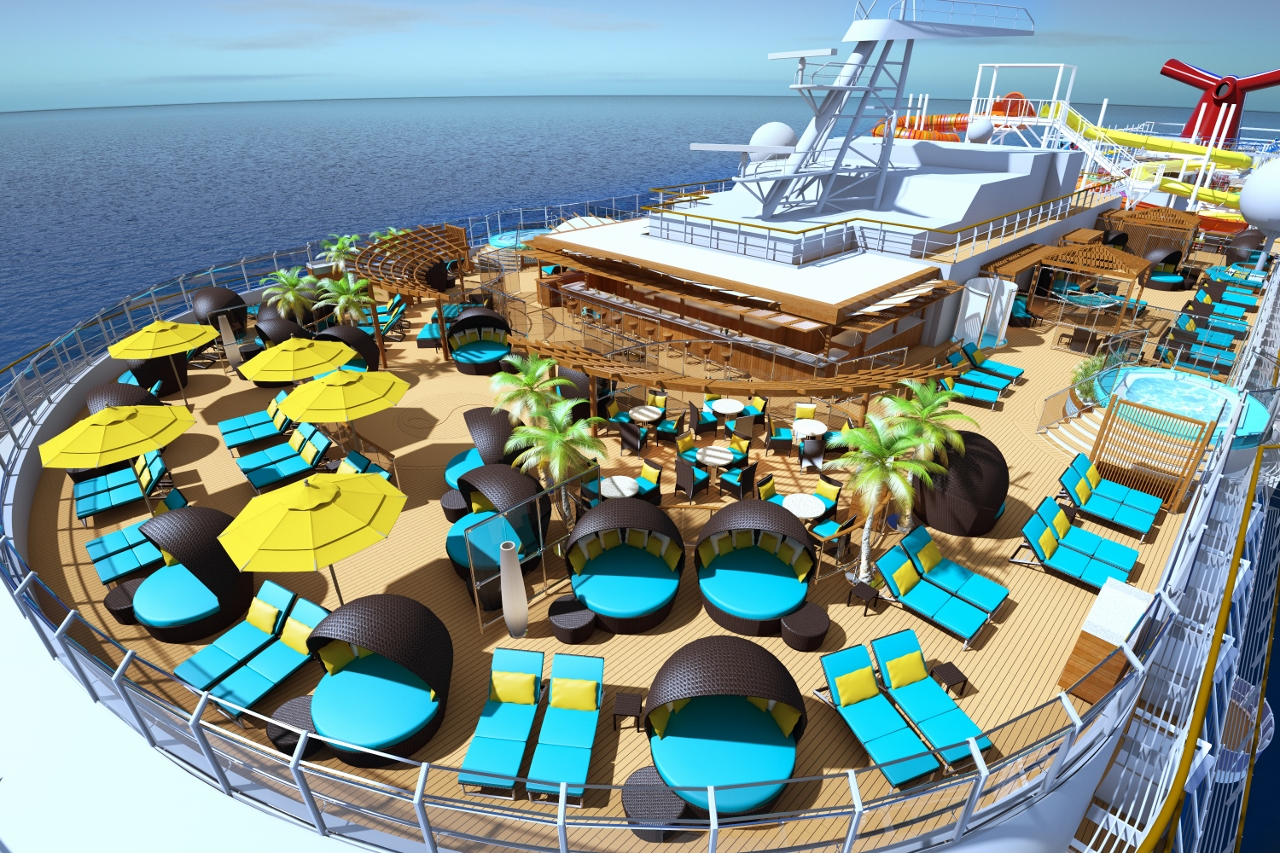 Carnival Vista will feature the Serenity adults only retreat.