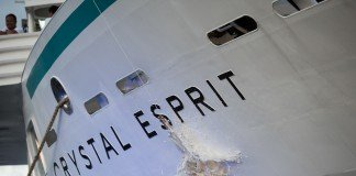 Crystal Esprit gets christened in the Seychelles