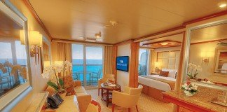 "Full Suites such as this on Regal Princess will fall under the new ""Club Class"" concept"