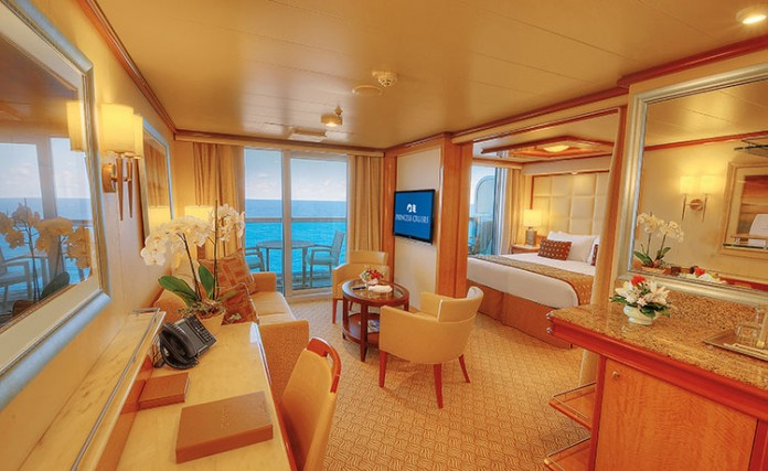 Full Suites such as this on Regal Princess will fall under the new