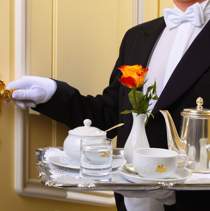 High end service on cruise ships