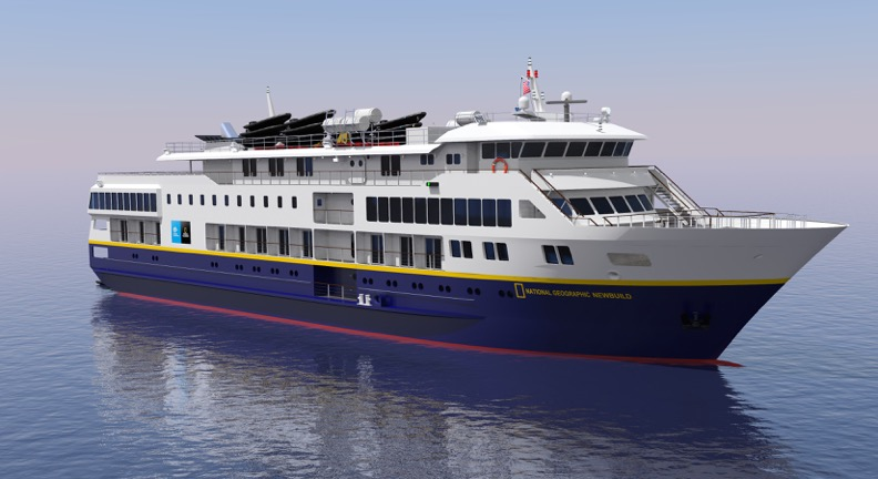 A look at two new ships coming soon to Lindblad Expeditions