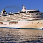 Crystal Serenity - one of two luxury ships in the Crystal Cruises fleet.