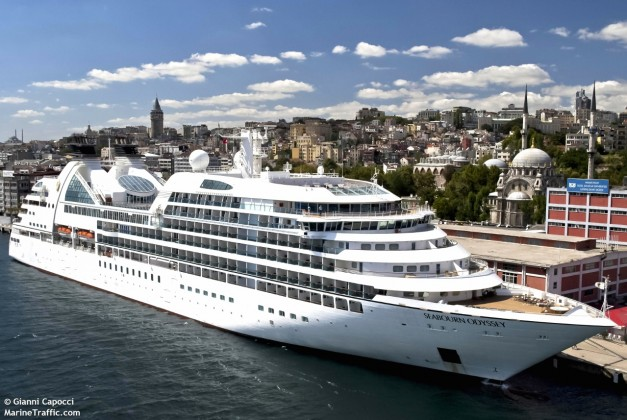 Seabourn Odyssey is in the Seabourn fleet