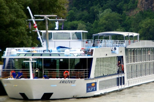 The MV AmaDante travels between Amsterdam and Budapest for APT