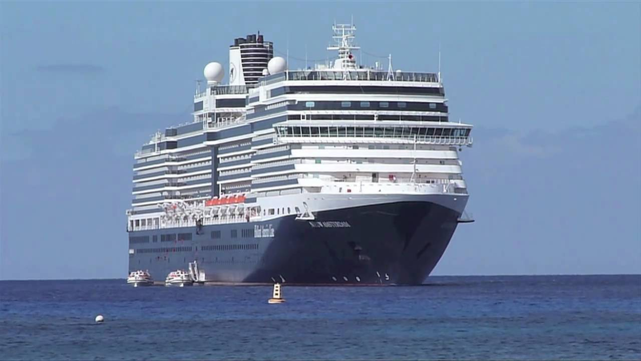MS Nieuw Amsterdam sails in Alaska for Holland America Line