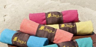 The Lagu Beach Blanket is purported to repel sand.