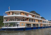 Avalon Waterways ship Avalon Myanmar sailing in Myanmar