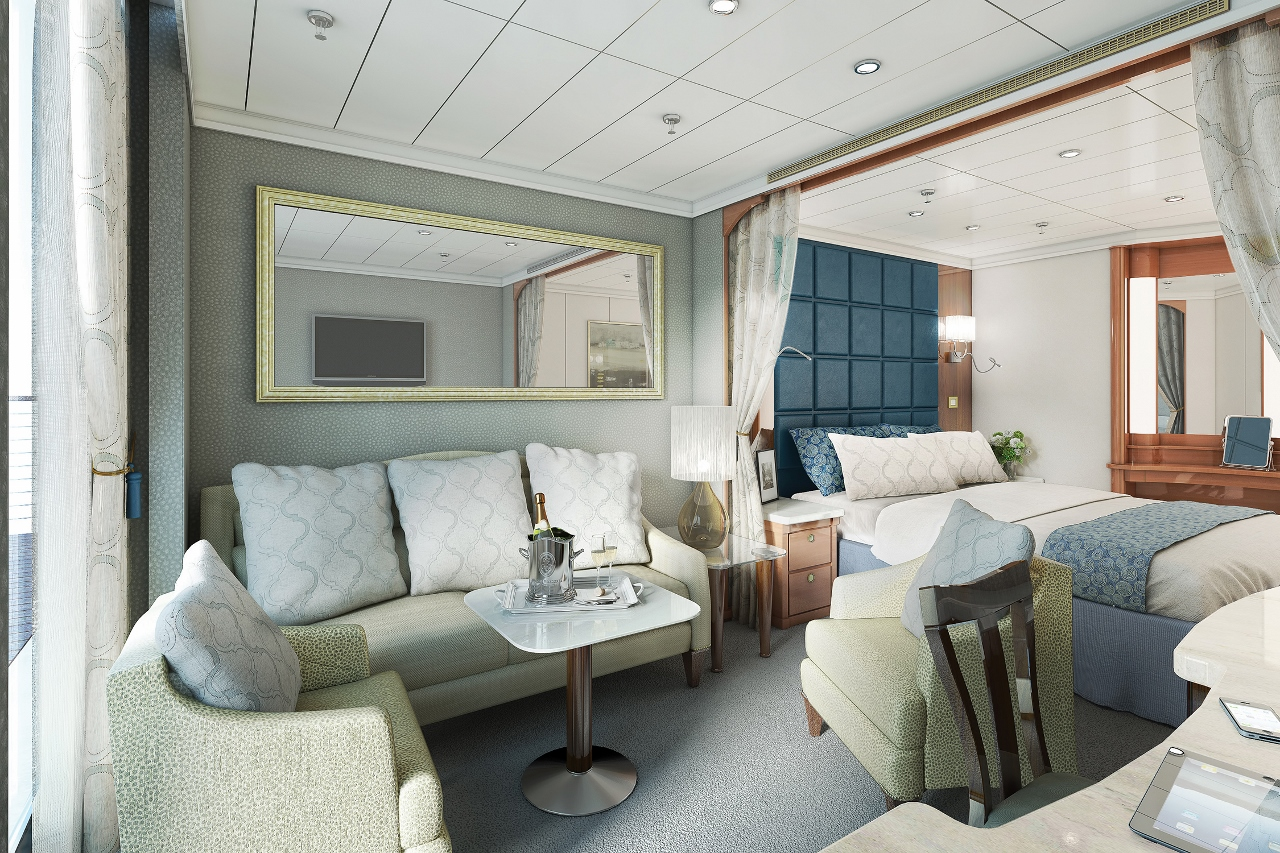 Regent Seven Seas Navigator will offer new suites by the end of the year