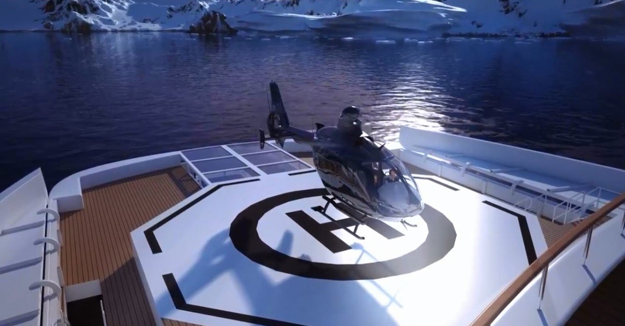 Two twin choppers will be housed onboard Scenic Eclipse.