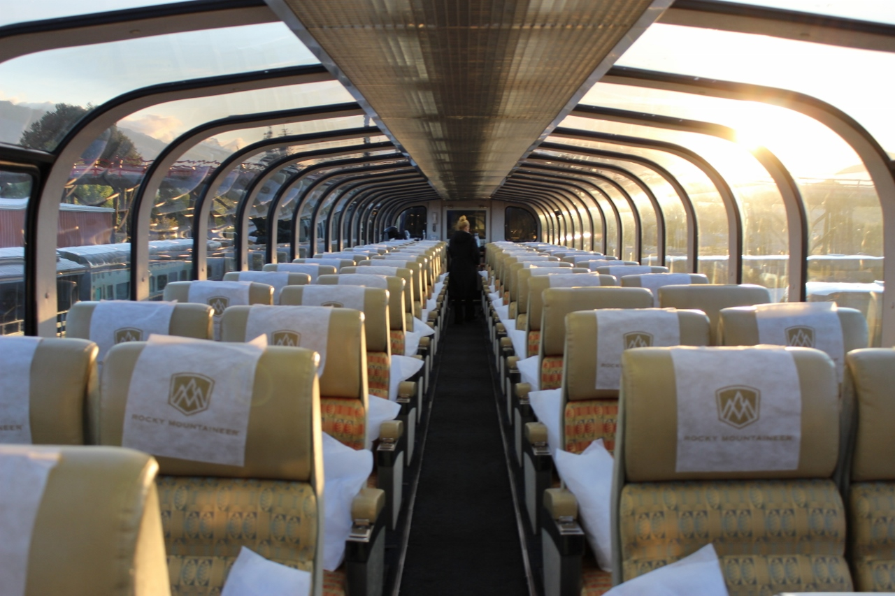GoldLeaf on Rocky Mountaineer