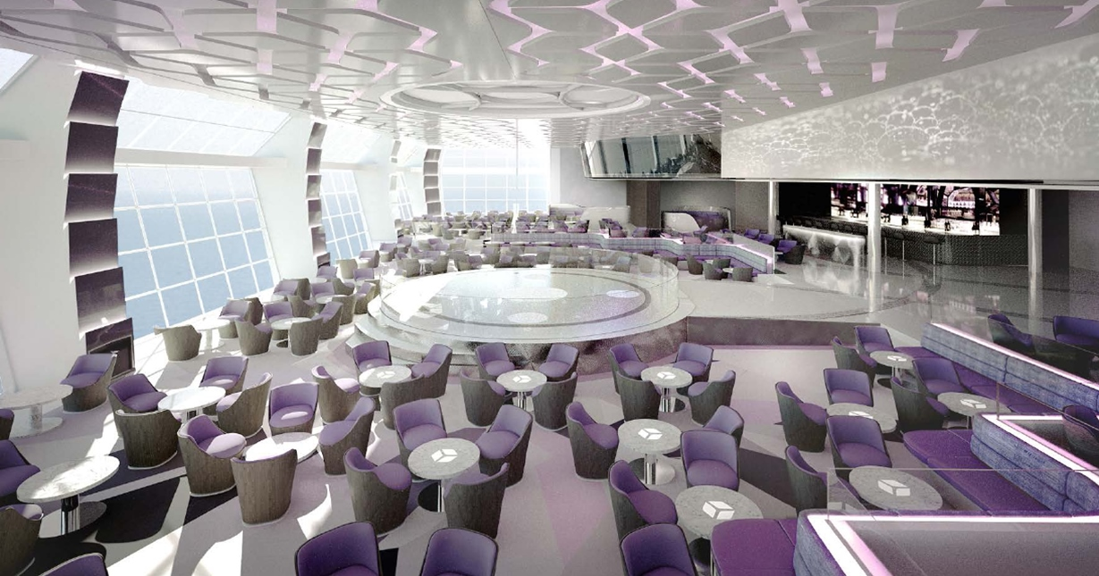 A dedicated venue for Cirque Du Soleil to perform will feature on MSC Meraviglia.