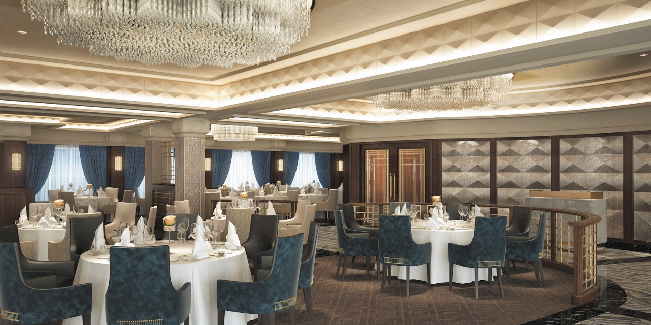 Seven Seas Navigator will offer a revitalised Compass Rose restaurant