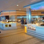 Oceanview Cafe Buffet dining aboard Celebrity Cruises' Solstice Class