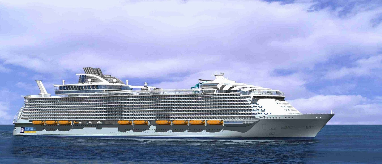 Royal Caribbean's new Harmony of the Seas.