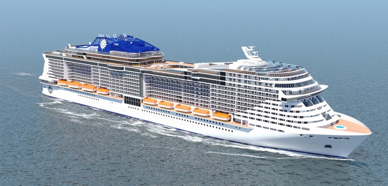 MSC Cruises' MSC Meragavila promises to offer the widest selection of interconnecting cabins afloat with options hosting up to ten guests.