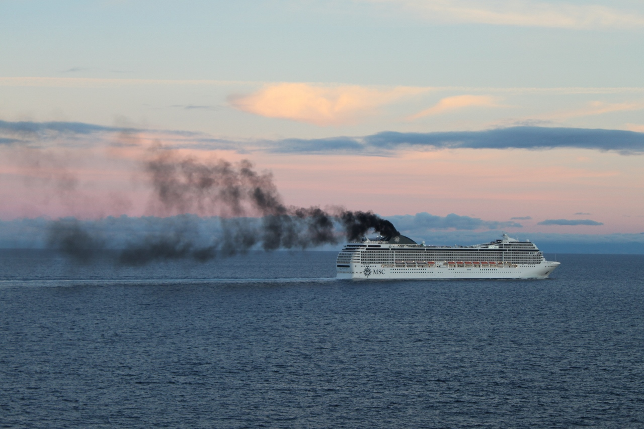 Cruise ships are rapidly moving into line for emvironmental sustainabilty.