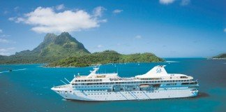MS Paul Gauguin sailing in Tahiti and French Polynesia