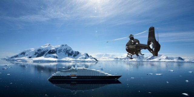 Scenic is the world's first discovery ship to feature two helicopters and a submarine.