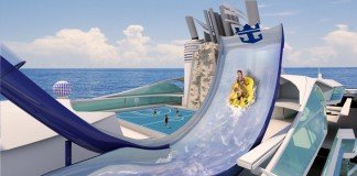 The innovative new water ride on Liberty of the Seas