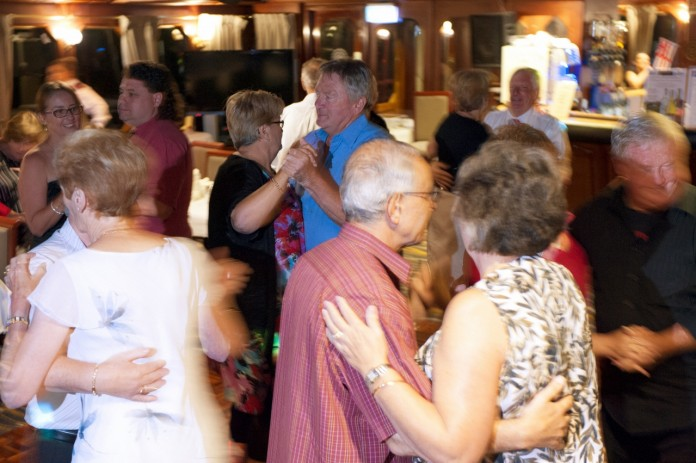 Guests can boogie the night away on the Murray Music Cruise